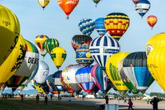 Lorraine Mondial Air Balloon 2015 Stock Photography