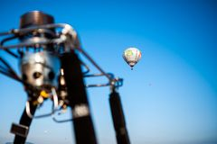 Lorraine Mondial Air Balloon 2015 Royalty Free Stock Photo
