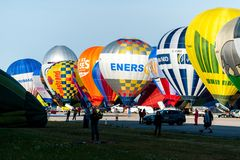 Lorraine Mondial Air Balloon 2015 Stock Photography