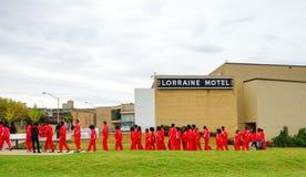 Lorraine Motel lizenzfreie stockfotos