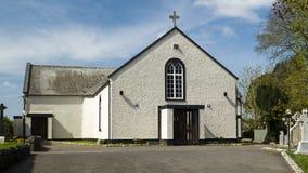 Lorrha StRuadhans Kirche lizenzfreies stockbild