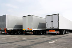 Lorries Royalty Free Stock Images