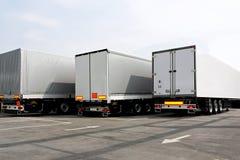 lorries royaltyfria bilder