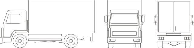 lorry Arkivbild