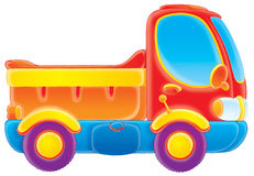 Lorry. Clip-art / children's illustration for yours design, postcard, album, cover, scrapbook, etc Royalty Free Stock Photography