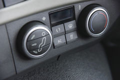 Lorry Air Conditioning Controls Stock Photography