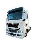 Lorry Cabin. White Lorry Cabin, Brand New Truck Stock Images