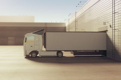 Lorry concept Stock Photography