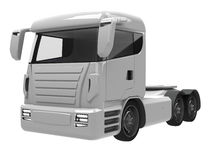 Lorry. 3D rendered image of a lorry Stock Photo