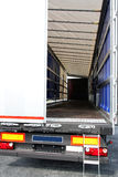 Lorry door Royalty Free Stock Photo