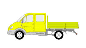 Lorry for farmers Stock Photo