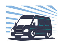 Lorry silhouette vector Stock Photography