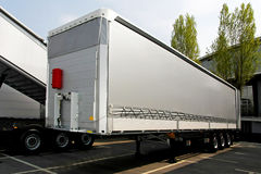 Lorry trailer Stock Images