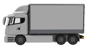 Lorry. Or truck side view stock images