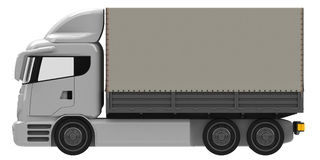 Lorry. Or truck in three quarter view Stock Photography