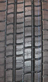 Lorry Truck Tyre. The Tread of a Single Heavy Duty Lorry Truck Tyre Stock Images