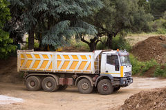 Lorry at work Royalty Free Stock Photography