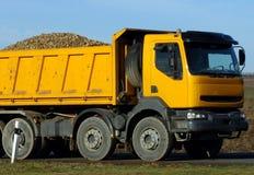 lorry yellow Стоковое Изображение RF