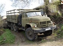 Lorry ZIL-131 Royalty Free Stock Photo