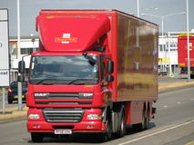 lorrypostkunglig person Royaltyfri Fotografi