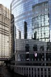 Losów Angeles biur budynku obrończy dostęp w Paryskiej dzielnicie biznesu France zdjęcie royalty free
