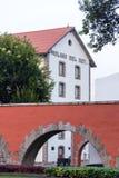 Los皮诺斯前总统房子,墨西哥城 免版税库存照片