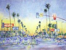 Los Ángeles libre illustration