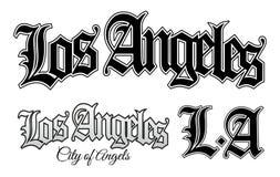 Los Ángeles ilustración del vector