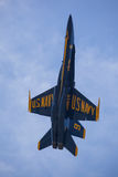 Los ángeles azules en Seafair Fotografía de archivo libre de regalías