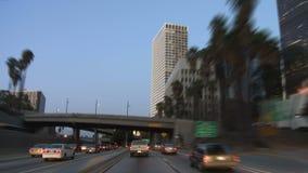 Los Ángeles - cámara montada coche - Timelapse metrajes