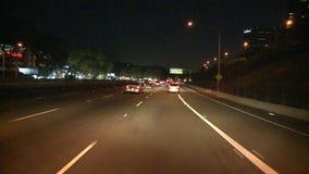 Los Ángeles - cámara montada coche - Timelapse - clip 6 almacen de video