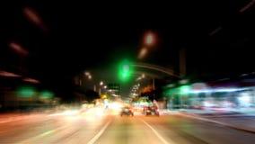 Los Ángeles - cámara montada coche - Timelapse - clip 11 metrajes