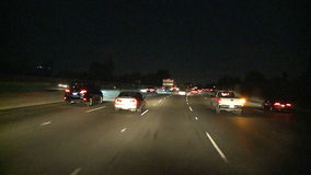 Los Ángeles - cámara montada coche - Timelapse - clip 7 metrajes