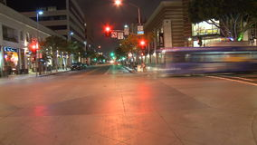 Los Ángeles - cámara montada coche - Timelapse - clip 8 almacen de video