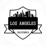 Los Ángeles céntrico #41 ilustración del vector