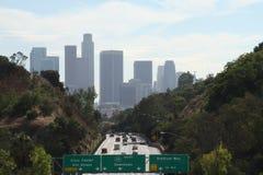 Los Ángeles céntrico que entra #1 Imágenes de archivo libres de regalías