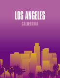 Los Ángeles California libre illustration