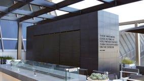 LOS ÁNGELES, CALIFORNIA, ESTADOS UNIDOS - 8 DE OCTUBRE DE 2014: área del salón de la alianza de la estrella de la salida del Inte Imagenes de archivo