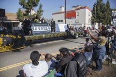 Los Ángeles, California, los E.E.U.U., el 19 de enero de 2015, trigésimo Martin Luther King Jr anual Desfile del día del reino Foto de archivo