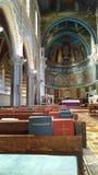 Los ángeles de los santos de la religión de la basílica esculpen la historia, Roma Lazio, Italia 2016 Fotografía de archivo libre de regalías