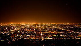 Los Ángeles desde arriba almacen de video