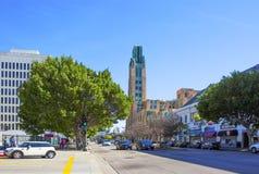 Los Ángeles Edificio de Wilshire de los bueyes de Wilshire de los bueyes del edificio imagenes de archivo
