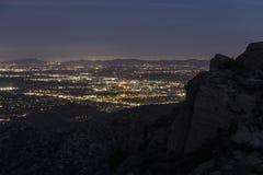 Los Ángeles Mountain View Imagen de archivo