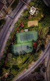Los à  ngeles CA tenisa pole Zdjęcie Royalty Free
