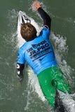 Los 2011 E.E.U.U. se abren de practicar surf Fotos de archivo libres de regalías