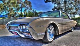Los años 60 americanos clásicos Ford Thunderbird Imágenes de archivo libres de regalías