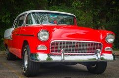 los años 50 Chevy Car Imagen de archivo libre de regalías