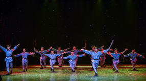 Los años de la danza guerra-histórica Fotos de archivo