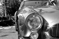 los años 50 Ferrari 250 detalles del frente de TdF Fotografía de archivo