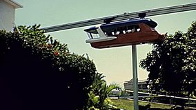 los años 70 Miami Seaquarium funicular almacen de video